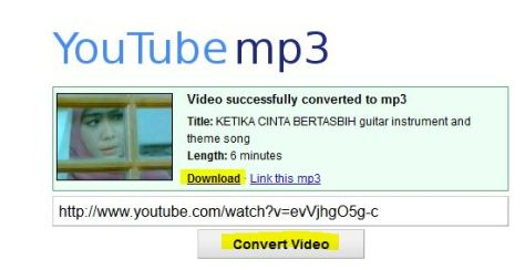 link download lagu dari youtube